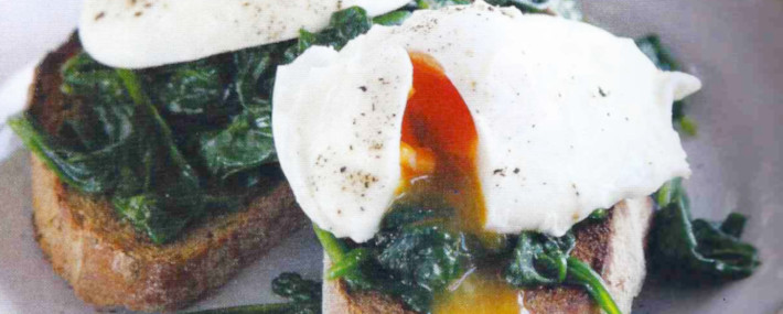Spinach & Eggs