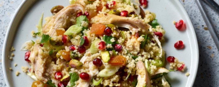 Jewelled Roast Turkey & Couscous Salad